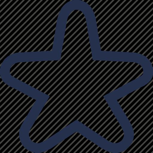 sea, star icon