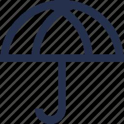 rain, umbreala icon