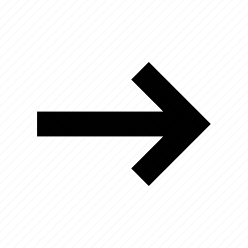 arrow, continue, navigation, next, right, step icon