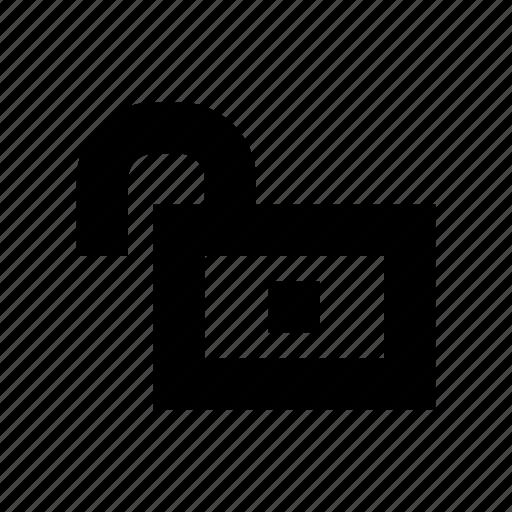lock, open, opened, public, unlock, unlocked icon
