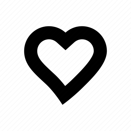 heart, love, medical, pulse, romantic, valentine icon