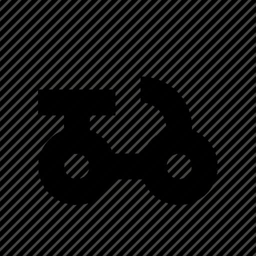 bicycle, bike, cruiser, lane, safety icon