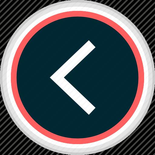 back, menu, nav, navigation, rewind icon