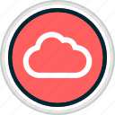 cloud, menu, nav, navigation icon