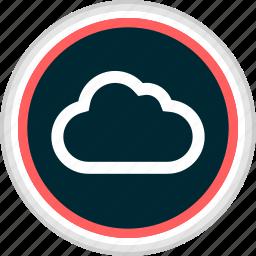 cloud, menu, nav, navigation icon