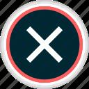 cross, menu, nav, navigation, x icon