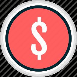 dollar, menu, money, nav, navigation, sign icon