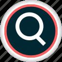 menu, search, nav, find, navigation icon