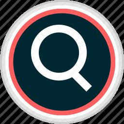 find, menu, nav, navigation, search icon