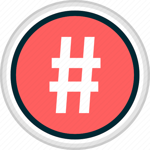 Hashtag, menu, nav, navigation icon - Download on Iconfinder