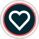 favorite, heart, love, menu, nav, navigation icon