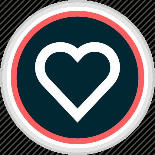 favorite, heart, love, menu, nav, navigation icon