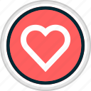 heart, love, menu, nav, navigation icon