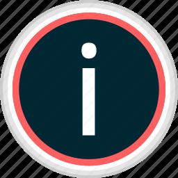 info, menu, nav, navigation icon