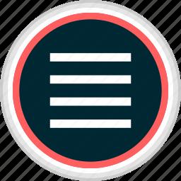 hamburger, menu, nav, navigation icon