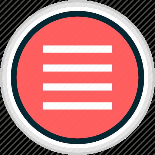 menu, nav, navigation, options icon