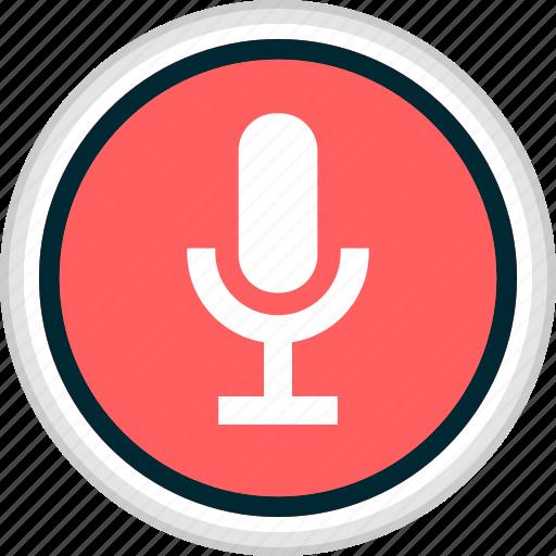 menu, microphone, nav, navigation, record icon
