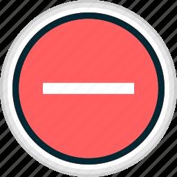 menu, nav, navigation, negative, sign icon
