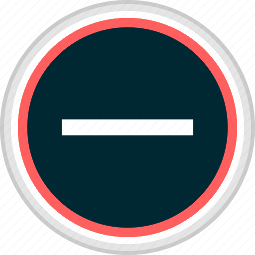 menu, nav, navigation, negative, neutral, sign icon