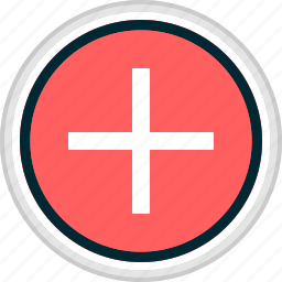 add, menu, nav, navigation, plus, sign icon