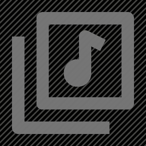 audio, music, navigation icon