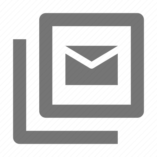 email, envelope, message, navigation icon