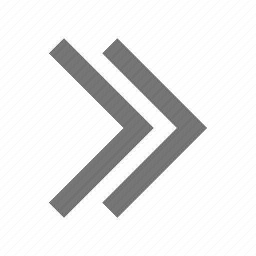 arrows, direction, forward, navigation, next, pointer, scroll, skip icon