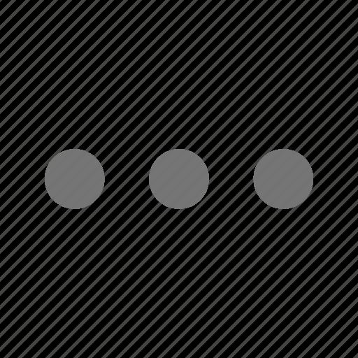 hortizontal, navigation icon
