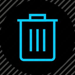 can, cancel, delete, remove, trash icon