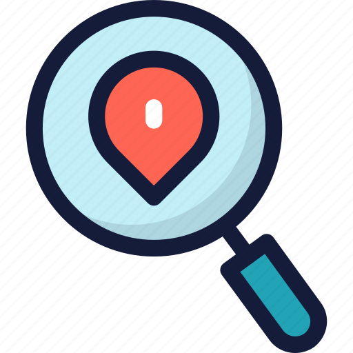 location, map, marker, navigation, pin, pointer, search icon