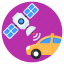 wireless car, satellite car, broadcast car, cab, wifi car