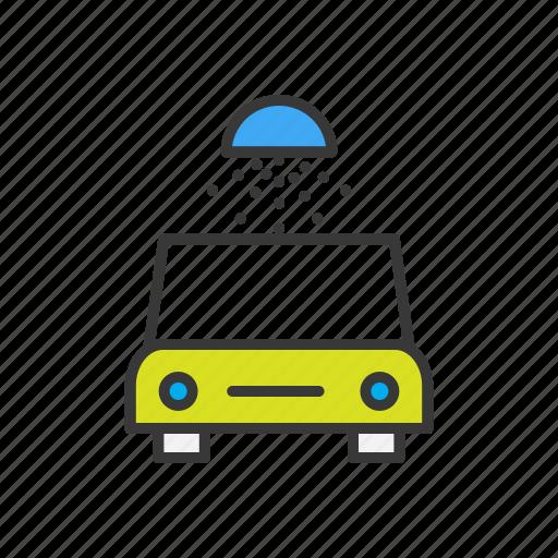 car, carwash, navigation, vehicle, wash icon