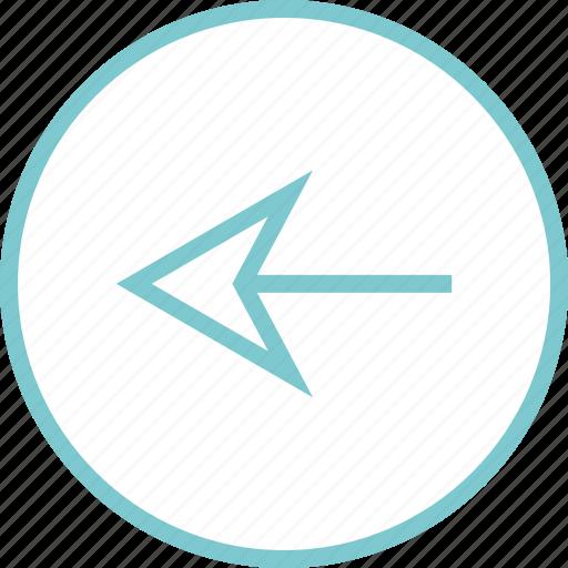 Arrow, back, left, menu, navigation icon - Download on Iconfinder