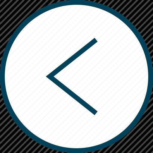 Back, menu, navigation, point icon - Download on Iconfinder