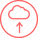 arrow, cloud, menu, navigation, up
