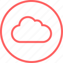 cloud, data, guardar, menu, navigation, save icon