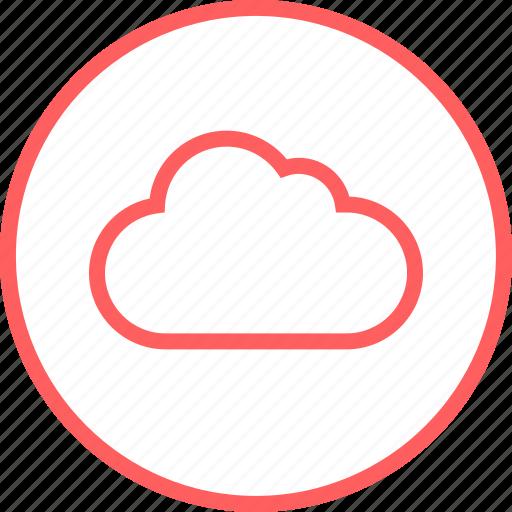 Cloud, data, menu, navigation, save, guardar icon - Download on Iconfinder