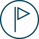 favorite, flag, menu, navigation icon