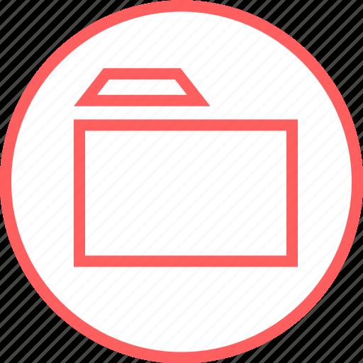 Archive, folder, menu, navigation, ok icon - Download on Iconfinder