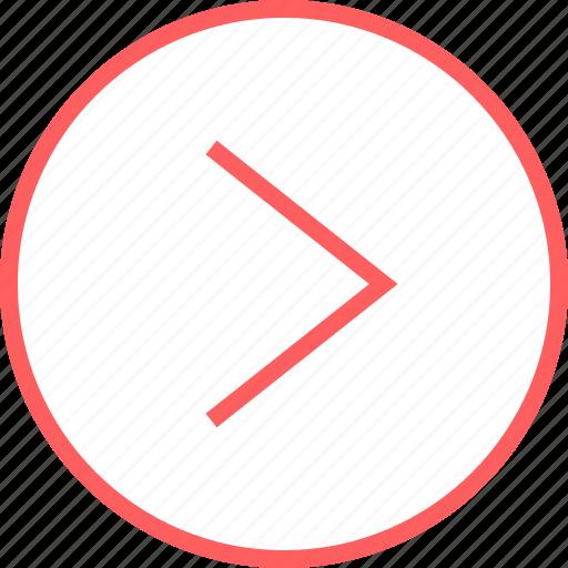 Go, menu, navigation, next icon - Download on Iconfinder