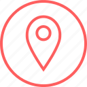 gps, location, menu, navigation