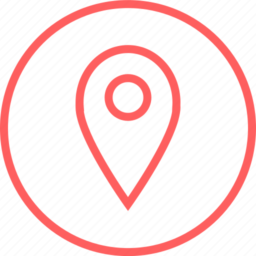 gps, location, menu, navigation icon