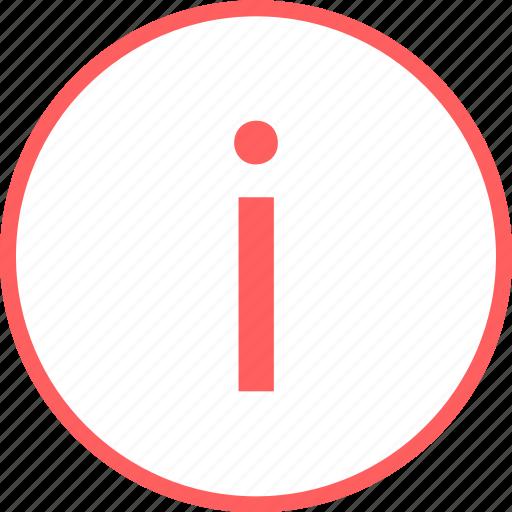 i, info, menu, more, navigation icon