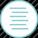 code, lines, menu, navigation