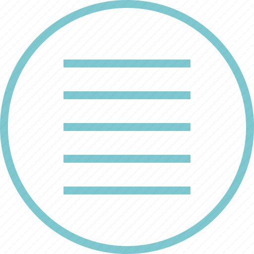 Hamburger, lines, menu, navigation icon - Download on Iconfinder