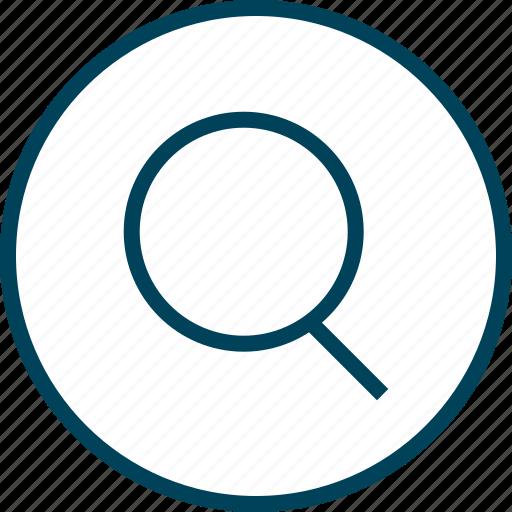 Find, look, menu, navigation, search icon - Download on Iconfinder