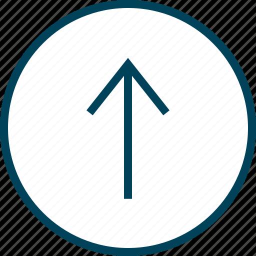 Arrow, menu, navigation, point, up icon - Download on Iconfinder