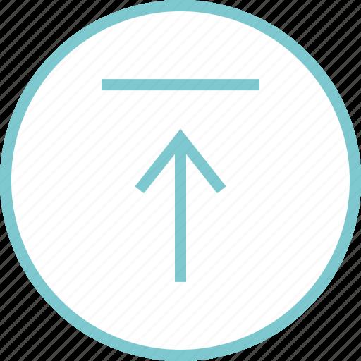 Arrow, menu, navigation, up, upload icon - Download on Iconfinder
