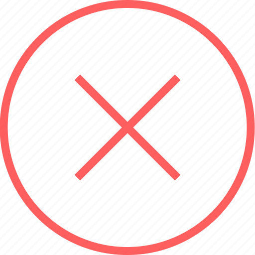 cross, delete, menu, navigation, x icon