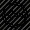 arrow, direction, left, navigation